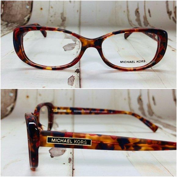 Michael Kors Cat Eye Tortoise Eyeglasses NWOT